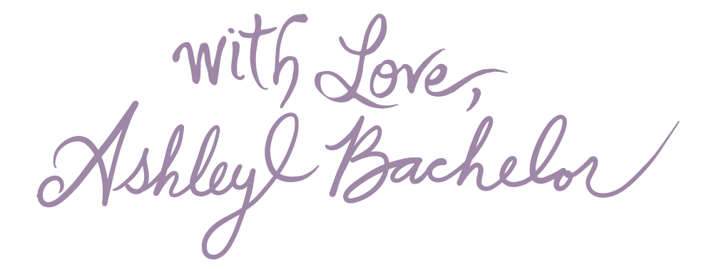 With Love, Ashley Bachelor